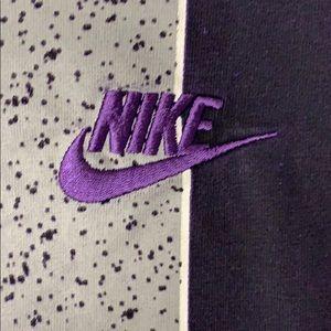 Nike Shirts - Nike purple flight t shirt